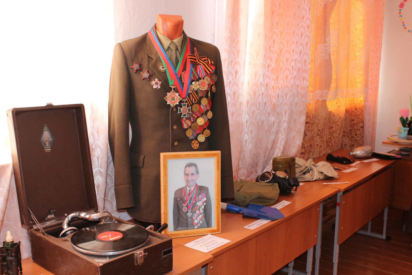 Экспозиция «Мы жизни за Отчизну не жалели…», посвященная Победе Советского народа в Великой Отечественной войне