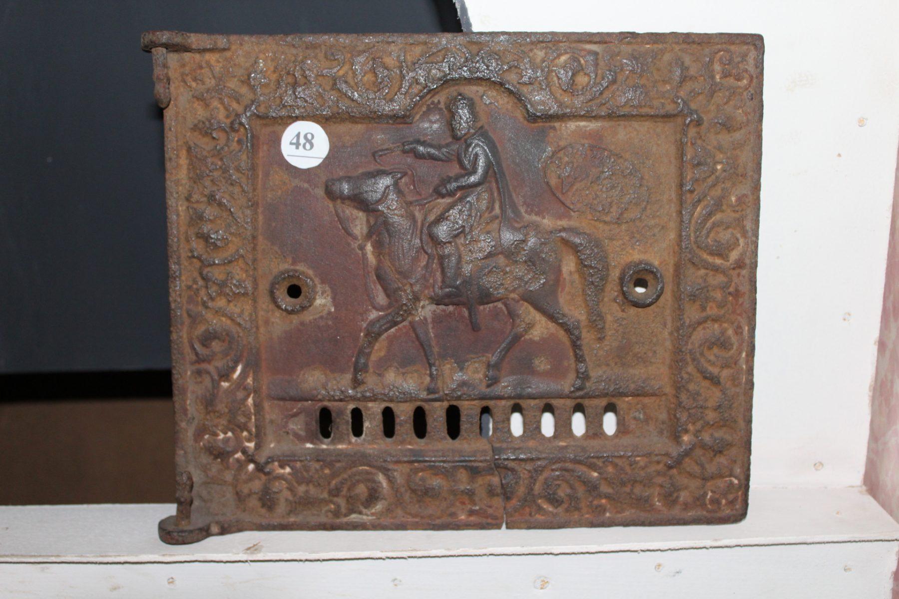 Дверца печная металлическая